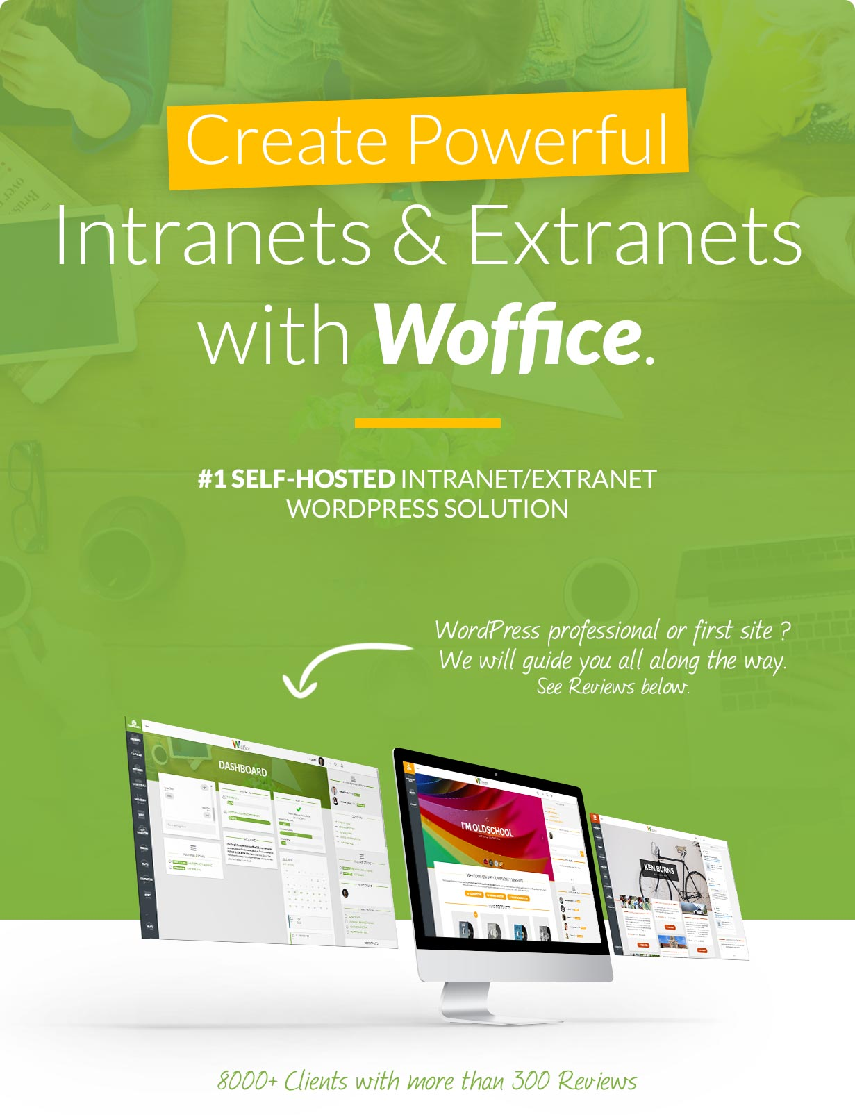 Woffice - Intranet/Extranet WordPress Theme - 1
