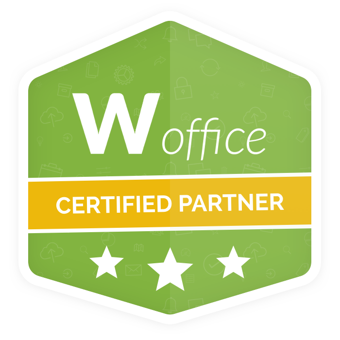Woffice Partner Badge